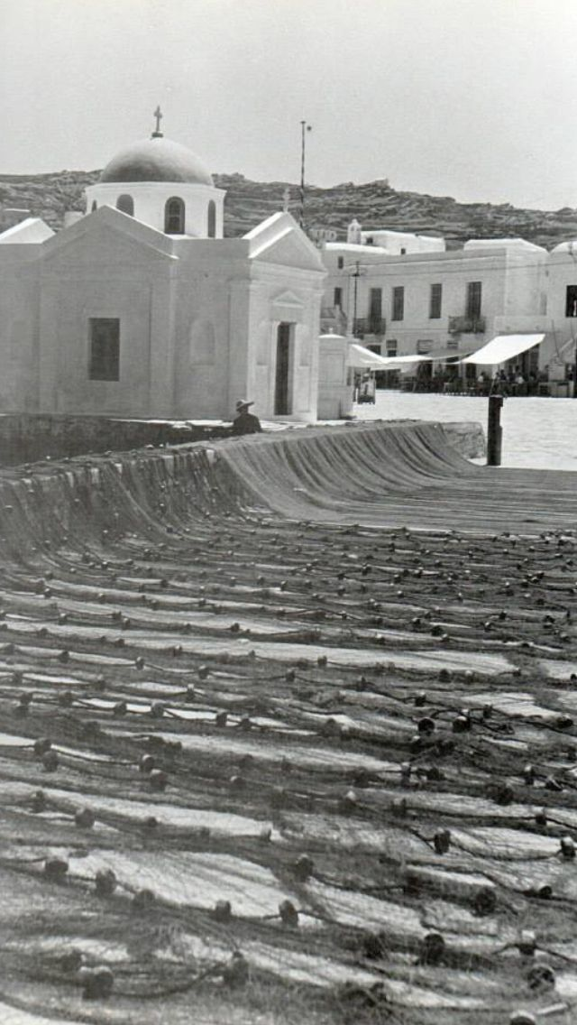 Mykonos waterfront in 1955!