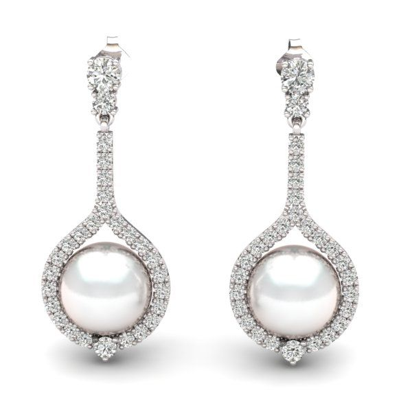 Pearl Earrings Contact us at http://www.mydiamonds.com.au for more information