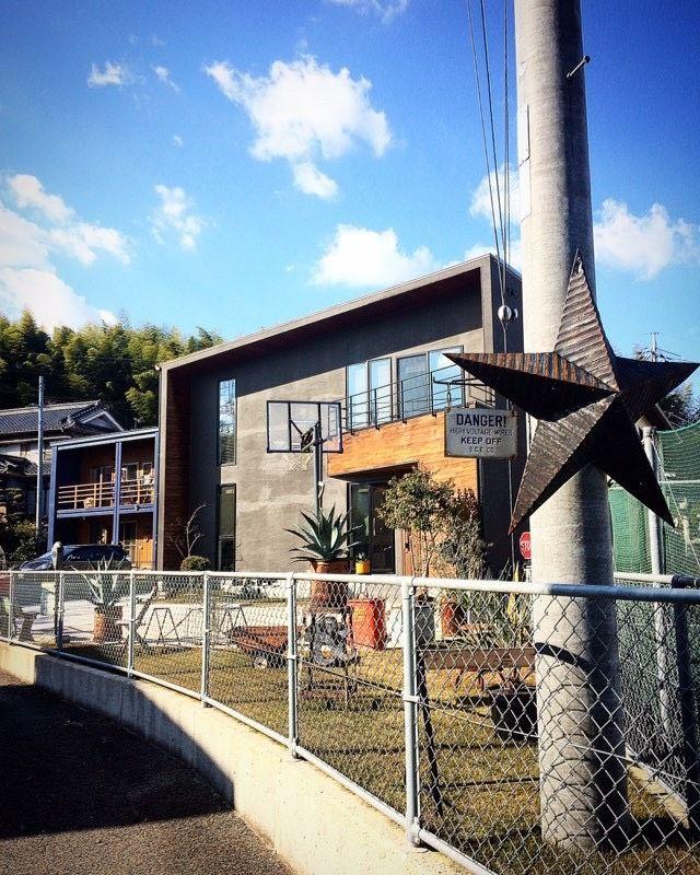 黒と木と斜めの黒い家 加度商の写真集 広島県尾道市 注文住宅 工務店