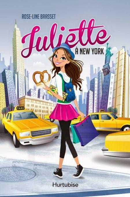 Le roman jeunesse Juliette à New York: Un air de printemps! Frais, pimpant, tout ce qu'on a besoin!