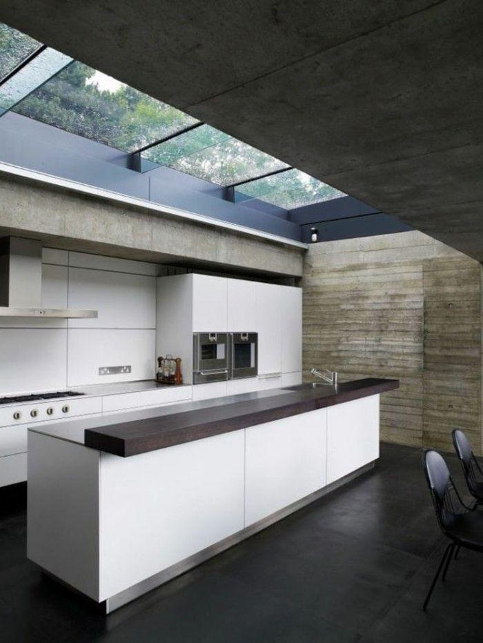 Dans la nature une villa moderne