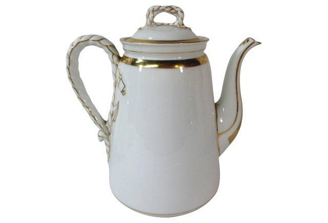 Haviland Anchors & Ropes Teapot