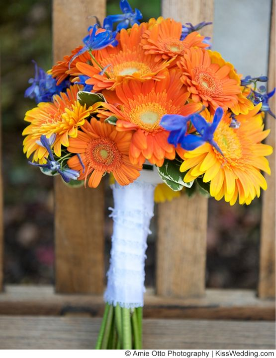 Find This Pin And More On Wedding Blue Orange