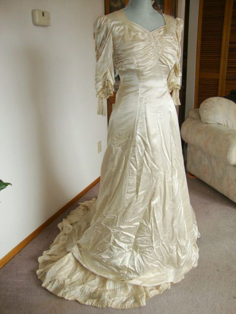 1940's Wedding Gown