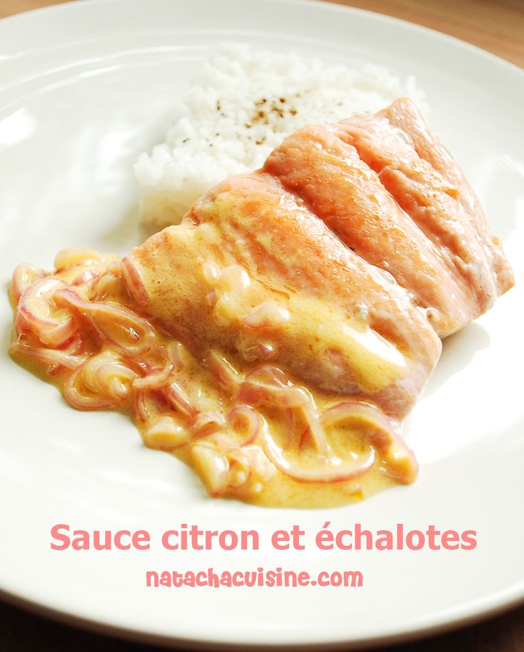 Sauce citron et échalote parfaite pour le poisson