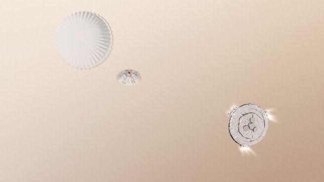 AWAKENING FOR ALL: ESA's SCHIAPARELLI MARS Lander Exploded on Impact,...