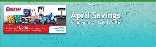 Costco Coupon Book: 4/7-5/1/16 : Save on Starbucks and More - http://couponsdowork.com/costco-sams-club/costco-coupon-booklet-april-2016/