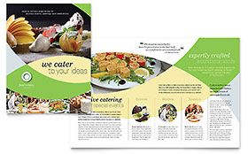 Food Catering - Graphic Design Brochure Template