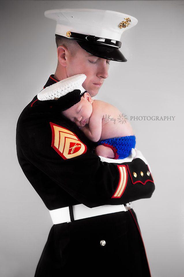 Newborn Photography | San Diego Photographer | AliKay | Military