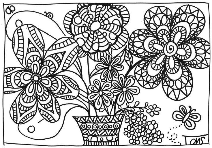 17 best images about dessin a colorier on pinterest - Dessin de printemps ...