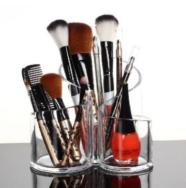 Makeup Brush Holder my first