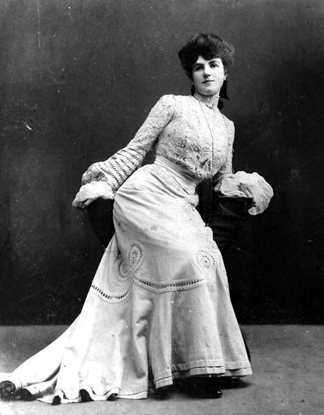 Kate Rockwell gained notoriety as Klondike Kate by dancing in vaudeville shows during the Klondike Gold Rush. Description from pinterest.com. I searched for this on bing.com/images
