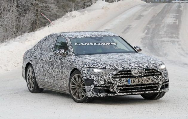 2018 Audi A8 Review, Redesign
