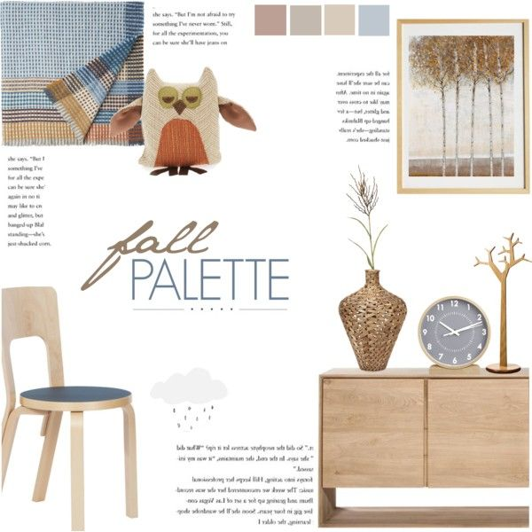 Fall Palette By C Silla On Polyvore Featuring Interior