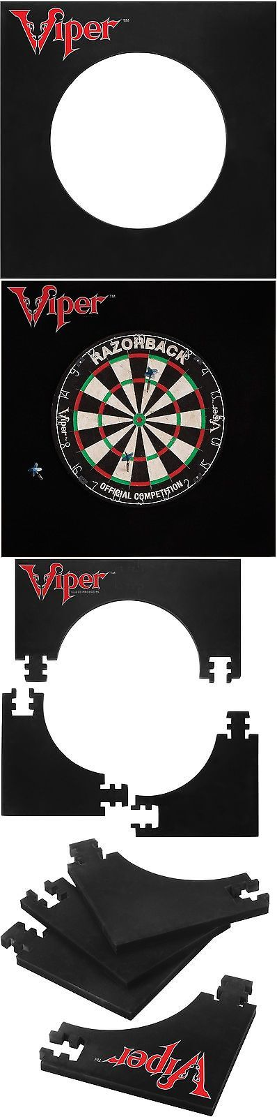 Dart Boards 72576: Viper Defender Ii Dartboard Surround Wall Protector New -> BUY IT NOW ONLY: $49.46 on eBay!