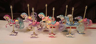Matchbox Carousel Collection Horse / Rocking Horse Lot of 10 - VGC