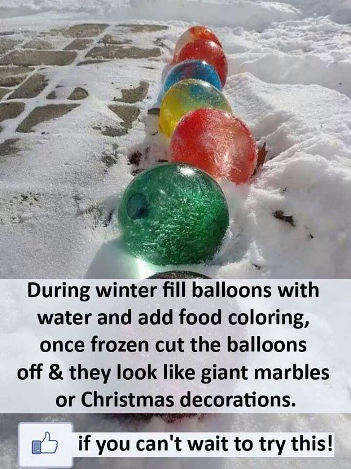 Christmas marble idea xx
