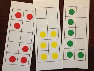 Math Coach's Corner: Using Dot Cards to Build Number Sense-ideas and free resources