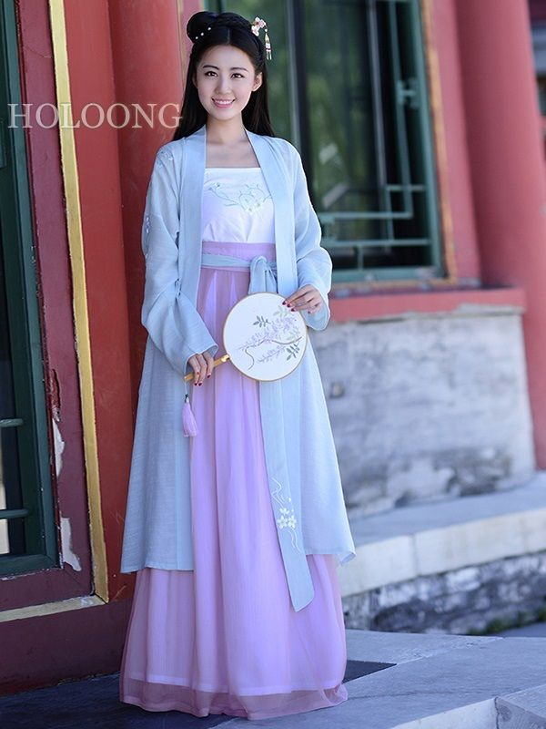 Orient asian clothes Traditional chinese clothing Dresses Ancient china Custom Women Hanfu Blouse