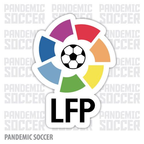 La Liga España Madrid Barcelona Vinyl Sticker Decal