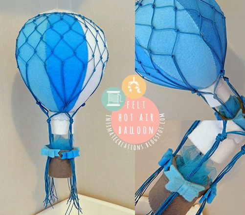 Felt Air Balloon