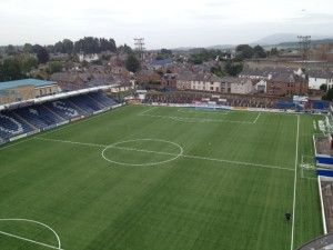 """Football and rugby clubs throughout the United Kingdom are realizing the benefits of selecting a high-performing 3G synthetic turf system, which closely replicates natural grass in good condition. """"The Doonhamers"""" at Queen of the South FC recently received a FIFA Two Star Certified pitch, which features the latest WX50 woven grass technology for the optimal playing surface."""