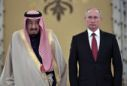 Russia Saudi Arabia cement new friendship with king's visit