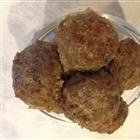Easy Meatball recipe, oven baked and not fried
