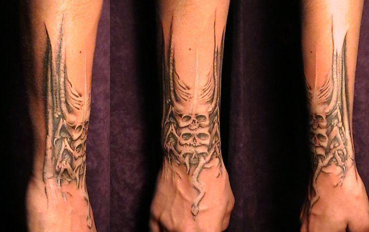 hr giger tattoo - Pesquisa Google