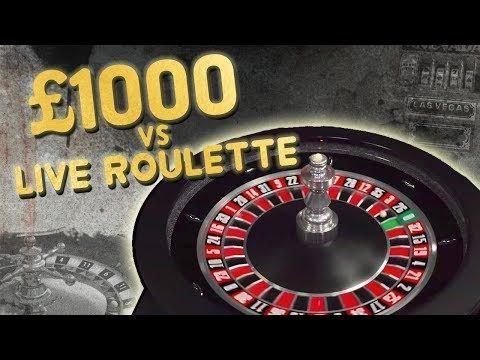 £1,000 vs Live Roulette BIG Win???