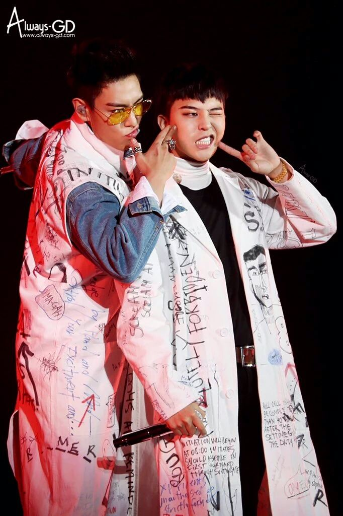 GD and TOP | MADE Japan Dome Tour in Osaka (151121)