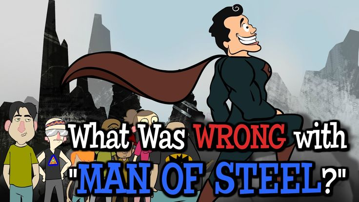 Animated short: What was Wrong with MAN OF STEEL? Based off a podcast conversation on the Superman movie