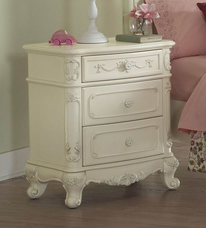 Shop Homelegance  1386 Cinderella Kids Nightstand at ATG Stores. Browse our kids nightstands, all with free shipping and best price guaranteed.
