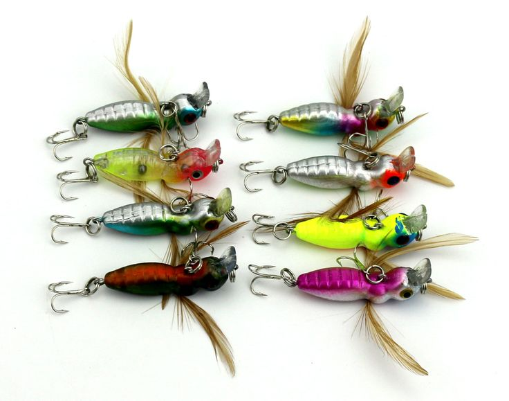 essential bionic bait fishing lures 4.5cm insect bait hengjia fishing tackle 3.4g wholesale fly fishing materials fish supplies
