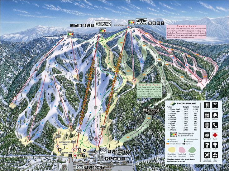 Big Bear Lake, California CA - loved the ski runs here