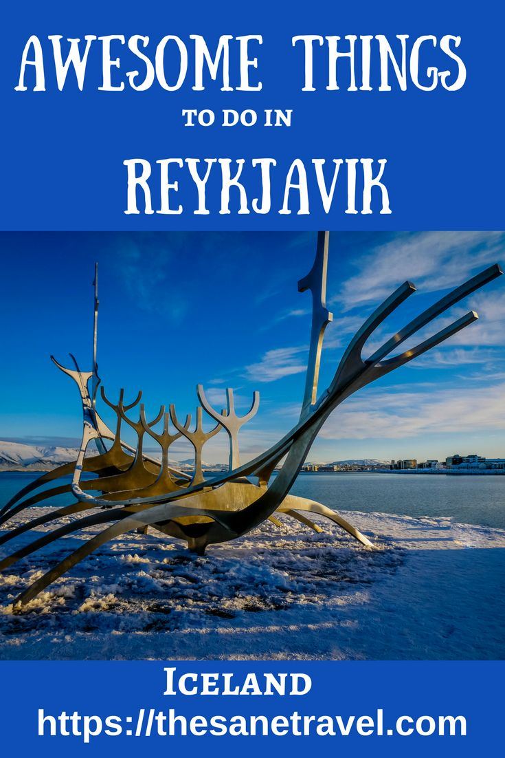 Even though the Iceland's capital city Reykjavik doesn't have great historic examples of architecture, it is very much worth exploring. Here is my selection of 12 quite different things to do in the city. All can be done on foot. #travel #travelphotography #Iceland #Reykjavik https://thesanetravel.com/travels/iceland/things-to-do-in-reykjavik