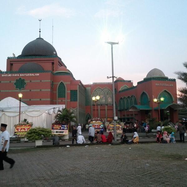 Masjid Raya Baitussalam, Pondok Kelapa
