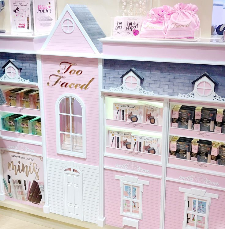 The Too Faced Carnaby Boudoir Store, Barbie Dolls-house Counter | Love Catherine