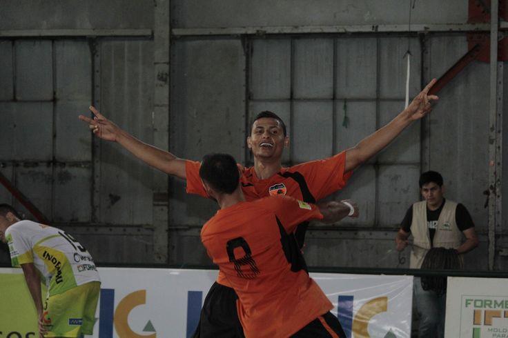 Christian Otero, figura de Lyon, finalista de la Liga Argos Futsal 2016-1.