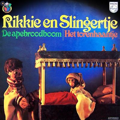 """Rikkie en Slingertje. Ik herinner me ook een slak en als die voortbewoog maakte hij het geluid """"dedibbededib""""."""