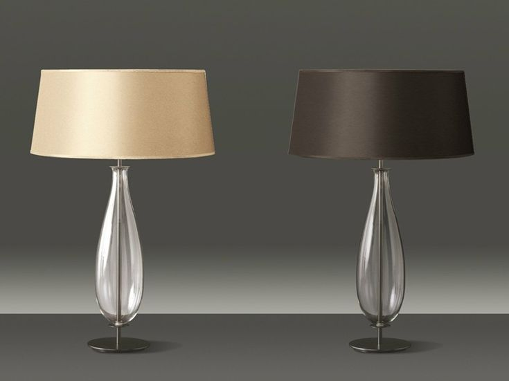 Blown glass table lamp BON TON New Classic Collection by Penta | design Gaia Bellavia