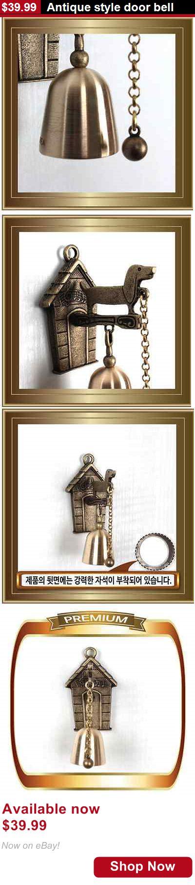 Door Bells and Knockers: Antique Style Door Bell BUY IT NOW ONLY: $39.99