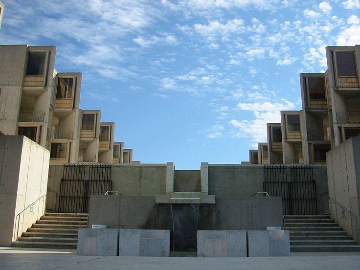 113 años del nacimiento de Louis Kahn  Instituto Salk   #arquitecto #arquitectura