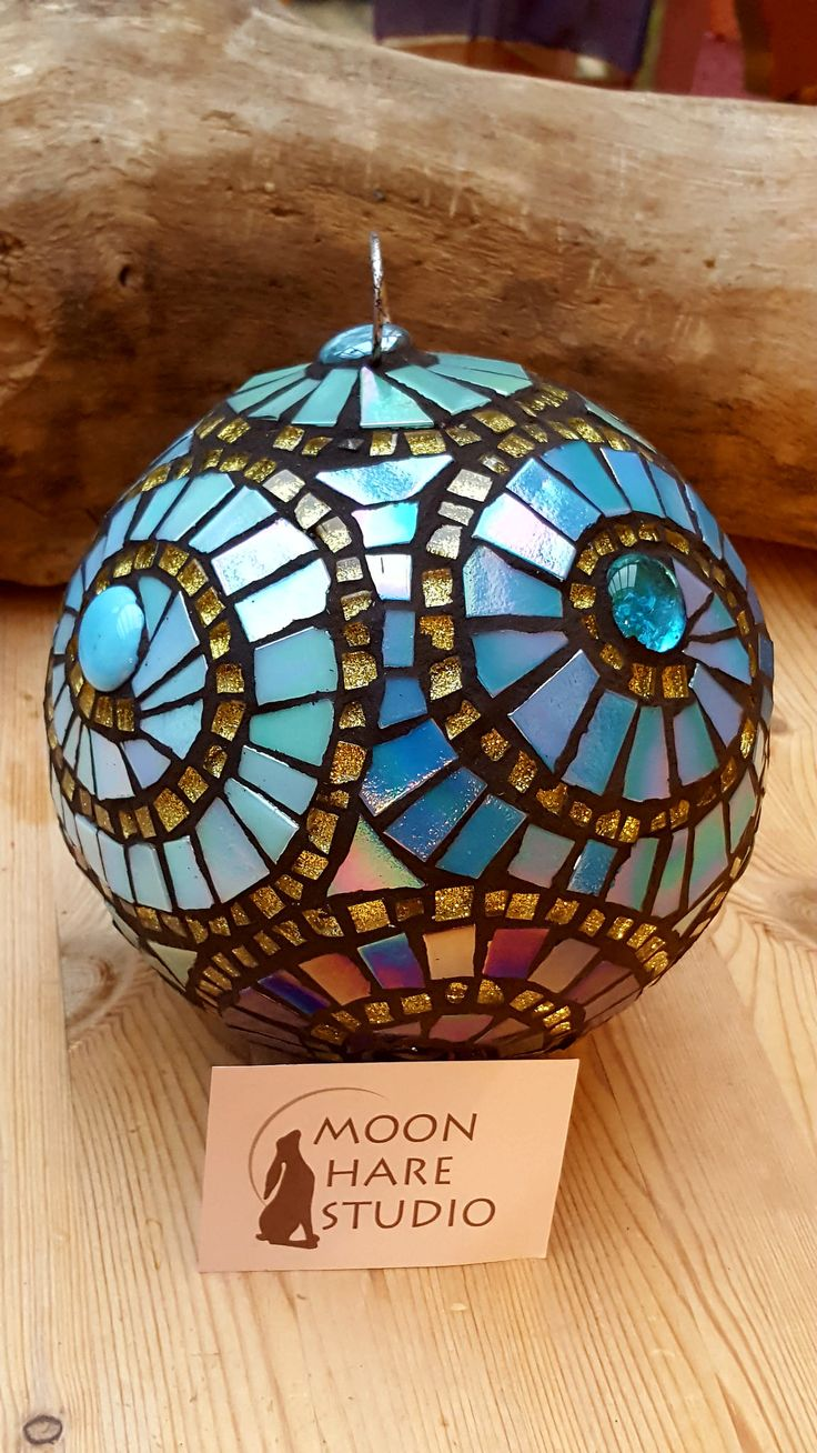 https://flic.kr/p/KY3eEW | Moon Hare Studio Adela Webb Garden Gazing Ball