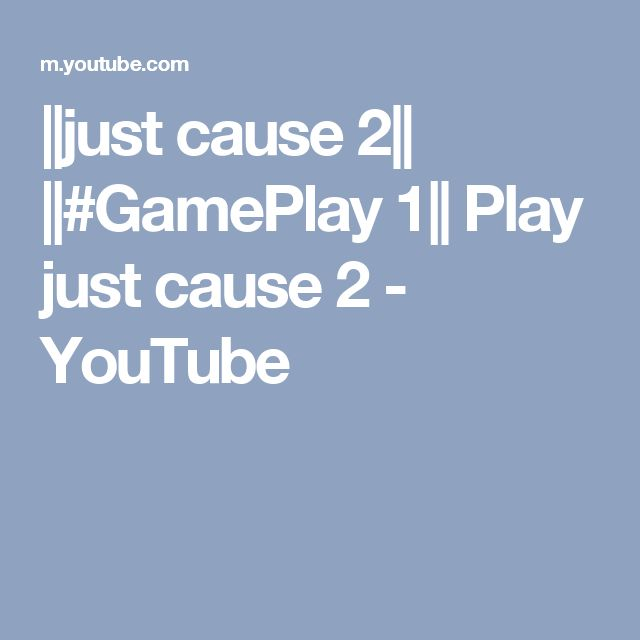 ||just cause 2|| ||#GamePlay 1|| Play just cause 2 - YouTube