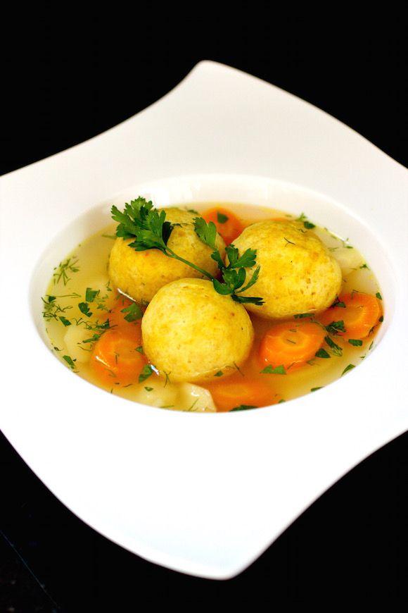 This is the best Chicken Soup with Exotic Saffron Matzoh Balls #MatzoBalls #FallFest #ChickenSoup