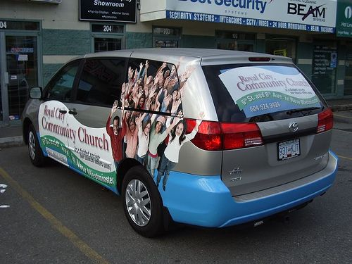 Produced and installed by FASTSIGNS Vancouver for Royal City Community Church www.fastsigns.com/653