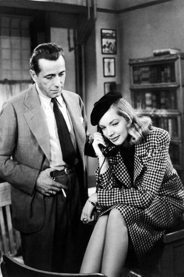 Humphrey Bogart and Lauren Bacall had one of the greatest love stories in cinematic history, and the style to match.