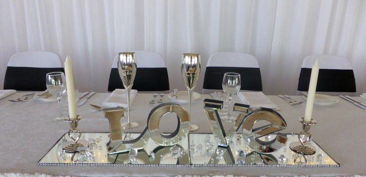 Bridal table option.