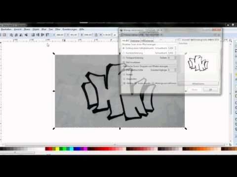 ▶ Herr Lukinski! Wie Vektorisiere ich einfache Zeichnungen, Logos & Skizzen? - YouTube